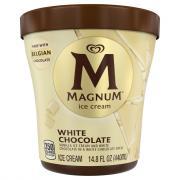 Magnum White Chocolate Vanilla Tub