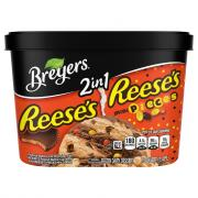 Breyers Reese's & Reese's Pieces
