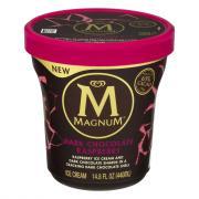 Magnum Dark Chocolate Raspberry Tub