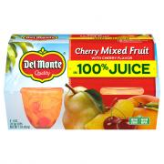 Del Monte Cherry Mixed Fruit in 100% Juice