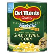 Del Monte Gold & White Corn