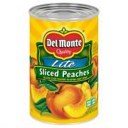 Del Monte Lite Yellow Cling Peaches