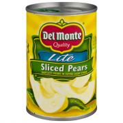 Del Monte Sliced Pears in Lite Syrup