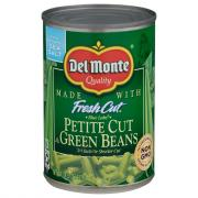 Del Monte Petite Cut Green Beans