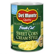 Del Monte Cream Style Corn