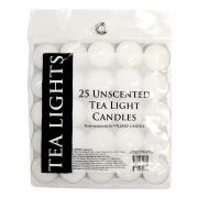 Village Candle Unscented Tea Light Candles