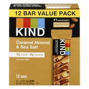 Kind Caramel Almond Sea Salt Bars
