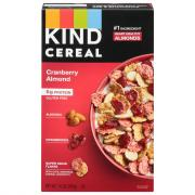 Kind Cereal Cranberry Almond