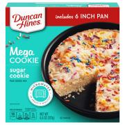 Duncan Hines Sugar Cookie Mega Cookie