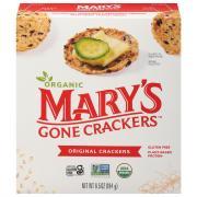 Mary's Gone Crackers Organic Gluten Free Original Crackers
