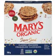 Mary's Gone Crackers Gluten Free Super Seeds Crackers