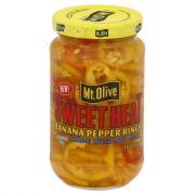 Mt. Olive Sweet Heat Banana Pepper Rings