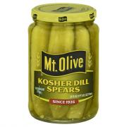 Mt. Olive Kosher Dill Pickle Spears