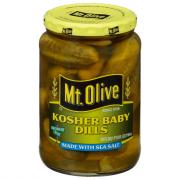 Mt. Olive Sea Salt Kosher Baby Dills
