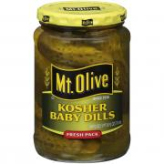 Mt. Olive Kosher Baby Dill Pickles