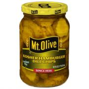 Mt. Olive Kosher Dill Hamburger Chips
