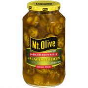 Mt. Olive Jalapeno Slices Deli Style