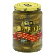 Mt. Olive Simply Pickles Hamburger Dill Chips