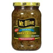 Mt. Olive Reduced Sodium Sweet Relish