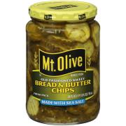 Mt. Olive Sea Salt Bread and Butter Pickle Chips