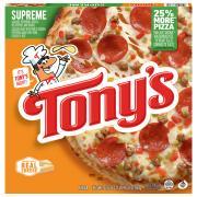 Tony's Pizzeria Style Crust Supreme Pizza