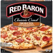 Red Baron Classic Four Meat Pizza