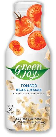 Green Joy Tomato Blue Cheese Vinaigrette Dressing