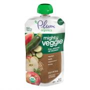 Plum Organics Mighty Veggie Zucchini Apple Watermelon Barley