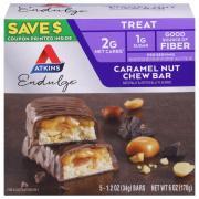 Atkins Endulge Caramel Nut Chew Bars