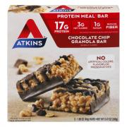 Atkins Advantage Chocolate Chip Granola Bars