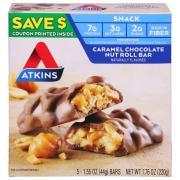 Atkins Advantage Caramel Chocolate Nut Roll