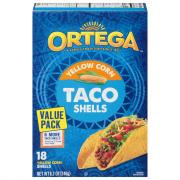 Ortega Yellow Corn Taco Shells