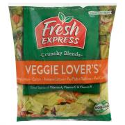 Fresh Express Veggie Lovers Premium Salad Blend