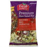 Fresh Express Smoked BBQ Sriracha Premium Slaw Salad Kit