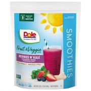 Dole Berries and Kale Fruit and Veggies Blend