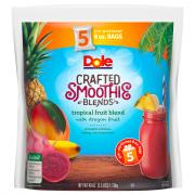 Dole Tropical Fruit Blend with Dragon Fruit Smoothie