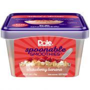 Dole Strawberry Banana Spoonable Smoothie