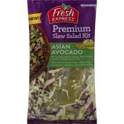 Fresh Express Asian Avocado Premium Slaw Salad Kit