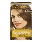 L'Oreal Preference #6 Light Brown Hair Color