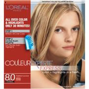 L'Oreal 8.0 Toasted Coconut Medium Blond Hair Color