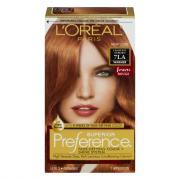 L'Oreal Preference #7LA Light Auburn Hair Color