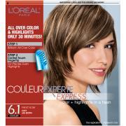 L'Oreal Excellence Creme 6.1 Light Ash Brown Hair Color
