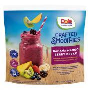 Dole Smoothie Blends Banana Mango Berry