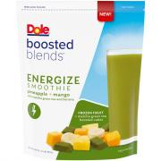 Dole Boosted Blends Energizing Pineapple Mango Smoothie