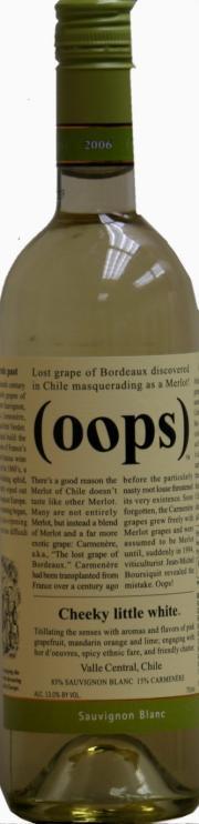 Oops Sauvignon Blanc