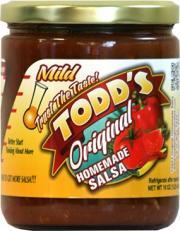 Todd's Mild Original Homemade Salsa