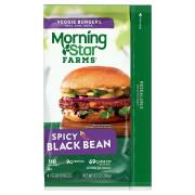 Morning Star Farms Spicy Black Bean Burger