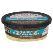 Yancey's Fancy Horseradish Cheese Spread with Scallion