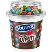 YoCrunch Vanilla Yogurt w/M&M's