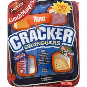 Eckrich Lunchmakers Cooked Ham Lunch Kit